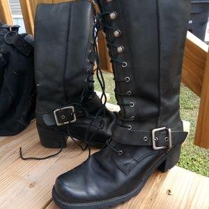Franco sarto combat boots